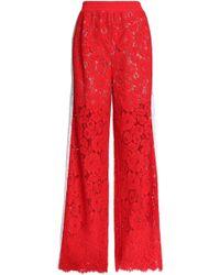 Goen.J - Corded Lace Wide-leg Trousers - Lyst