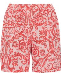 Day Birger et Mikkelsen - Fresco Printed Jersey Shorts - Lyst