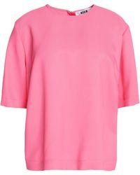 MSGM - Short Sleeved - Lyst