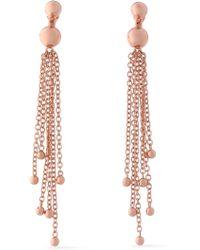 Arme De L'Amour - Rose Gold-tone Earrings - Lyst