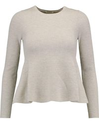 Totême  | Leo Fluted Wool-blend Sweater | Lyst