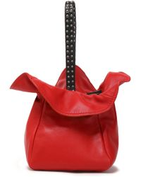 3.1 Phillip Lim - Studded Leather Bucket Bag - Lyst