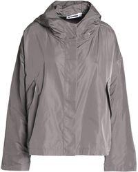Jil Sander - Shell Hooded Jacket - Lyst