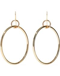 Elizabeth and James - Gold-tone Earrings - Lyst