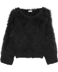 Brunello Cucinelli - Embellished Cotton-blend Bouclé-knit Sweater - Lyst