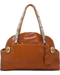 COACH - Leather Tote - Lyst
