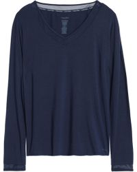 Calvin Klein - Stretch-modal Knitted Top - Lyst