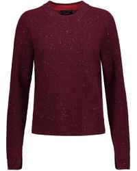 Rag & Bone - Valentina Cropped Ribbed Cashmere Sweater - Lyst