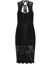 Alexis - Oralie Open-back Guipure Lace Dress - Lyst