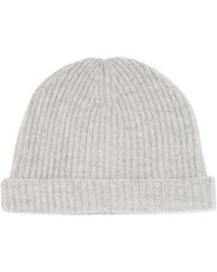 N.Peal Cashmere - Ribbed Cashmere Beanie - Lyst