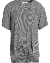Kain - Knotted Striped Jersey T-shirt - Lyst