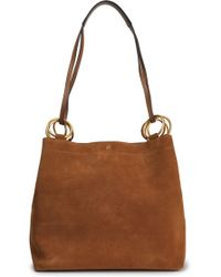 Tory Burch - Suede Shoulder Bag - Lyst