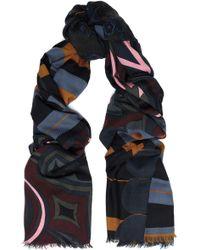COACH - Printed Wool-twill Scarf - Lyst