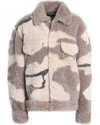 e31e508830a2 Rag & Bone Sigrid Leopard-print Calf Hair Coat - Lyst