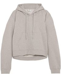 Vetements - Printed French Cotton-blend Terry Hooded Sweatshirt - Lyst