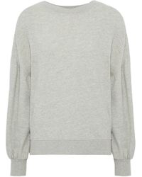 Joie - Isae Mélange French Cotton-blend Terry Sweatshirt - Lyst