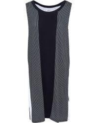 DKNY - Striped Jersey Nightdress - Lyst