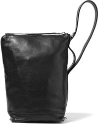 Rick Owens - Textured-leather Shoulder Bag - Lyst