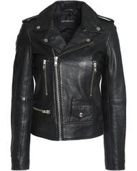 Nicholas - Leather Biker Jacket - Lyst
