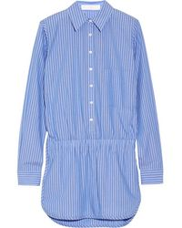 Thakoon - - Addition Striped Cotton Playsuit - Blue - Lyst