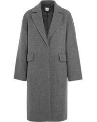 Iris & Ink | Edie Brushed Wool-blend Coat | Lyst