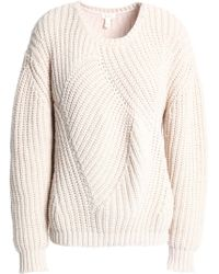 Soft Joie - Ribbed Cotton-blend Jumper - Lyst