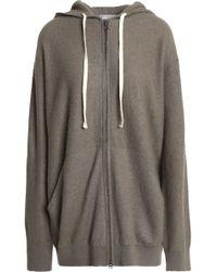 Vince - Cashmere Hooded Jacket - Lyst