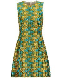 Dolce & Gabbana - Fil Coupé Jacquard Dress - Lyst