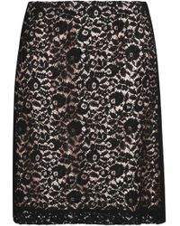 Lanvin - Corded Lace Mini Skirt - Lyst