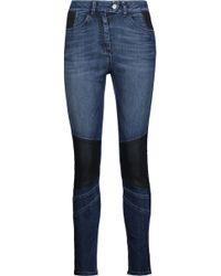 Belstaff - Asha Mid-rise Panelled Skinny Jeans - Lyst