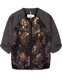 Day Birger et Mikkelsen - Day Orient Embellished Satin And Wool Jacket - Lyst