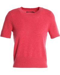 J Brand - Woman Briony Cashmere Jumper Bright Pink - Lyst