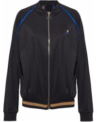 P.E Nation - The 100m Dash Embroidered Shell Bomber Jacket - Lyst