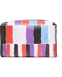 Emilio Pucci - Small Printed Leather Cosmetic Case - Lyst