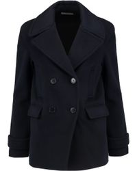 Vince - Wool And Cashmere-blend Coat - Lyst