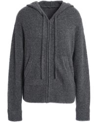 James Perse - Cashmere-blend Hooded Jacket - Lyst