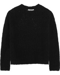 Vince - Textured Stretch Merino Wool-blend Jumper - Lyst
