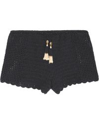 She Made Me - Oh Girl Crocheted Cotton Shorts - Lyst