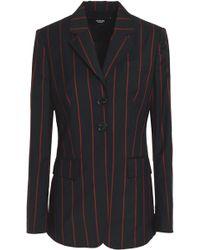 Versus - Pinstriped Wool Blazer - Lyst