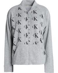 CALVIN KLEIN 205W39NYC - Printed Cotton-blend Sweatshirt - Lyst