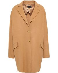 JOSEPH - Wool-blend Coat Camel - Lyst