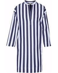 Sleepy Jones - Striped Cotton Night Dress - Lyst
