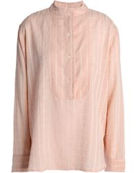 Vanessa Bruno Athé - Cotton-blend Jacquard Blouse - Lyst