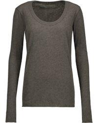 Rag & Bone Woman Intarsia-knit Sweater Army Green Size XS Rag & Bone Inexpensive For Sale M4UjukIZc