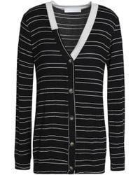 Kain - Striped Knitted Cardigan - Lyst