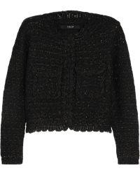 Sibling - Metallic Wool-blend Bouclé Jacket - Lyst