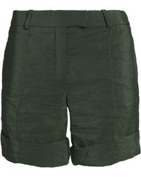 Nina Ricci - High-rise Shorts Leaf Green - Lyst