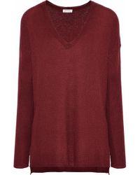 Soft Joie - Woman Khari Crochet-knit Jumper Brick - Lyst