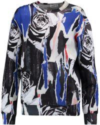 DKNY | Printed Scuba Sweatshirt | Lyst