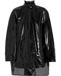 Ellery - Paneled Coated Cotton Jacket - Lyst